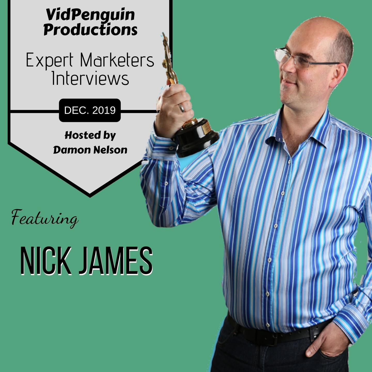 Nick James interview