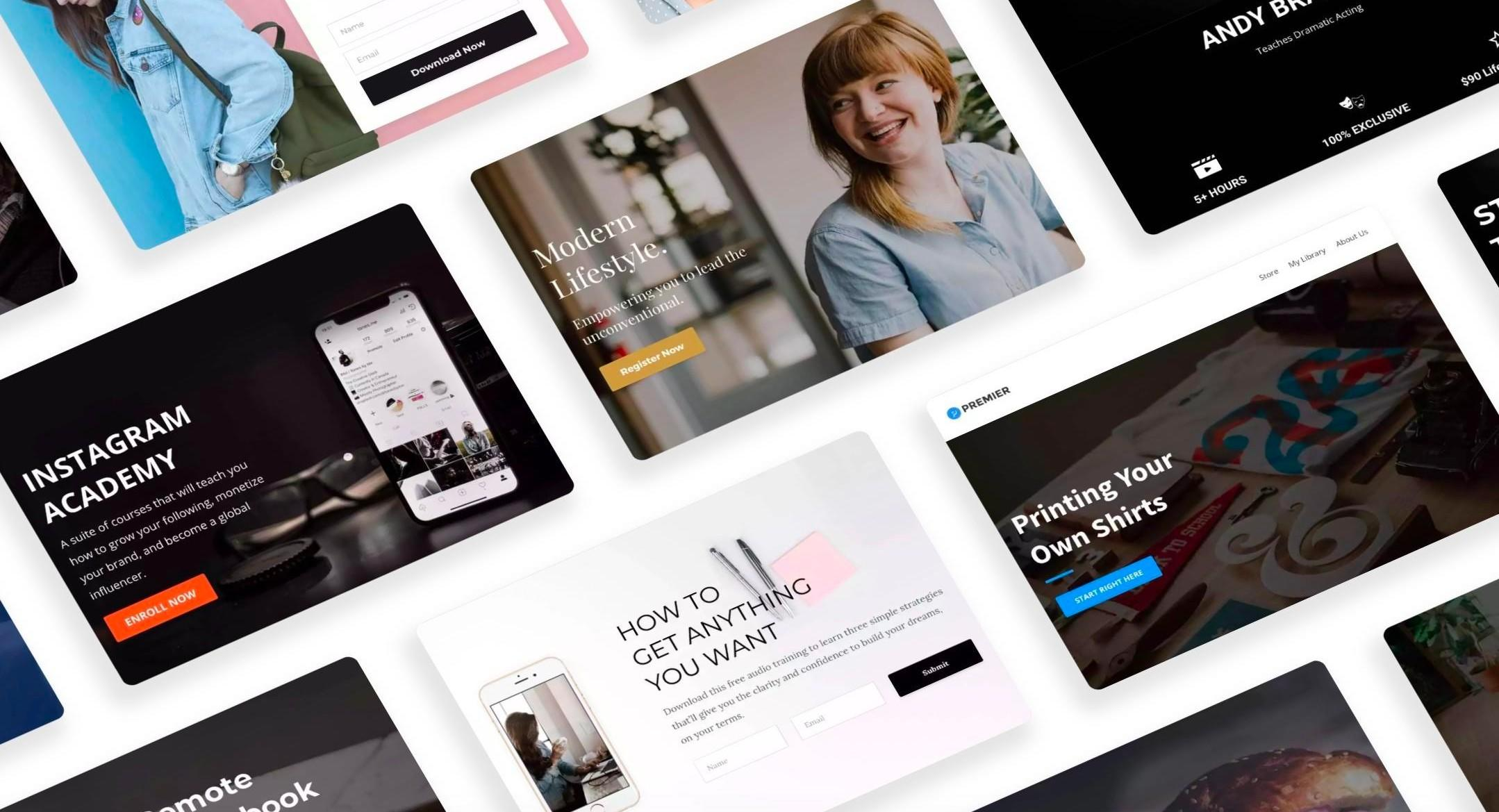 Website and landing page creation services with People Builders