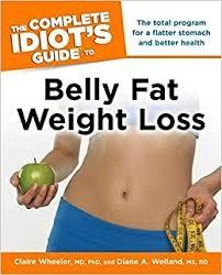 Complete Idiot's Guide Belly Fat Weight Loss Elizabeth DeRobertis