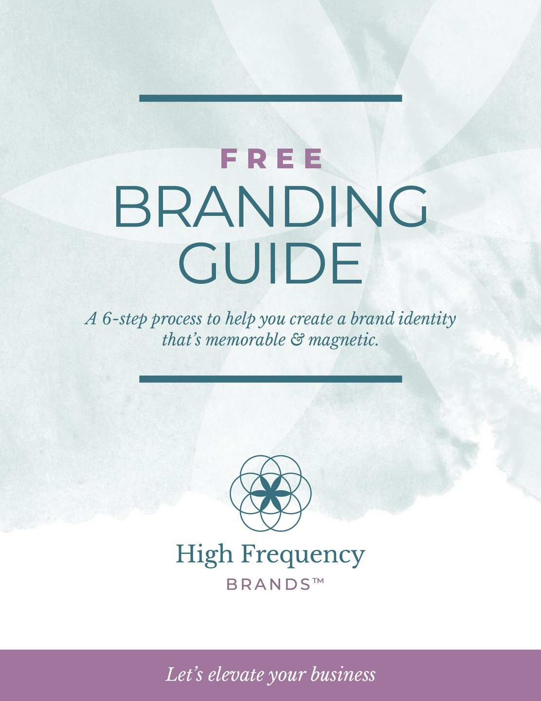 FREE Branding Guide by High Frequency Brands