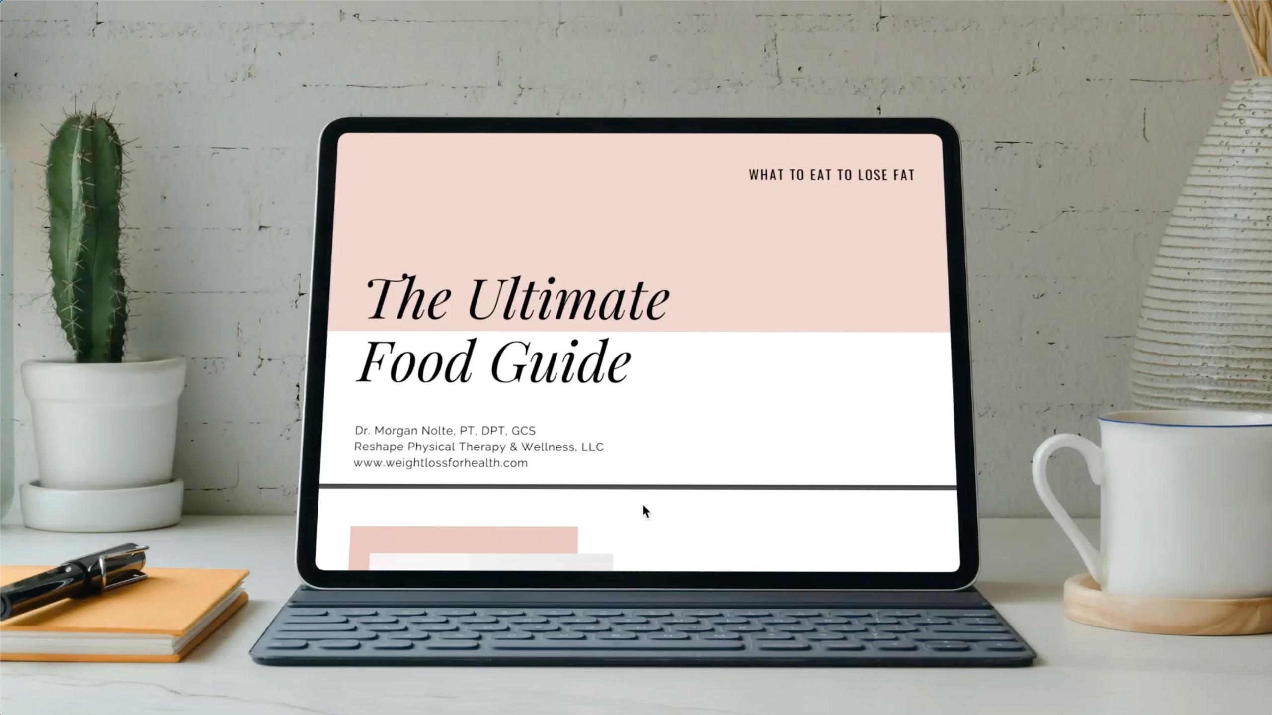 The Ultimate Food Guide | Dr. Morgan Nolte