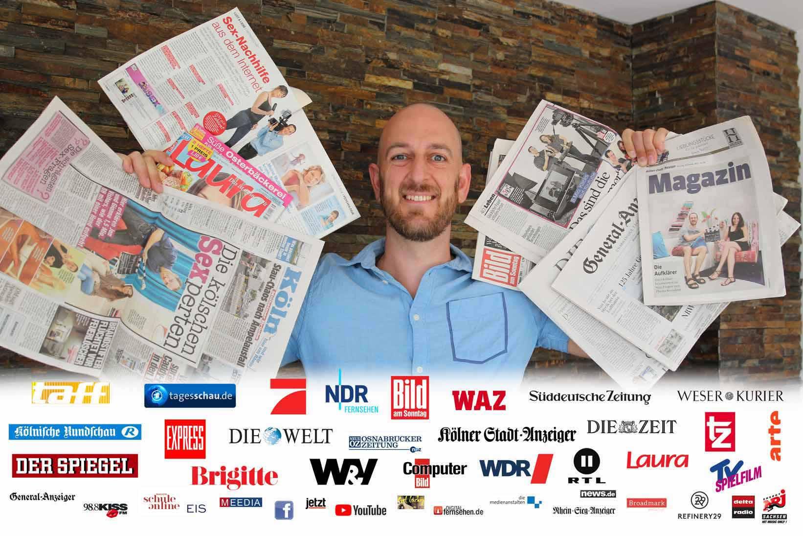 Jan Omland / Jan Winter mit Presse Feedback