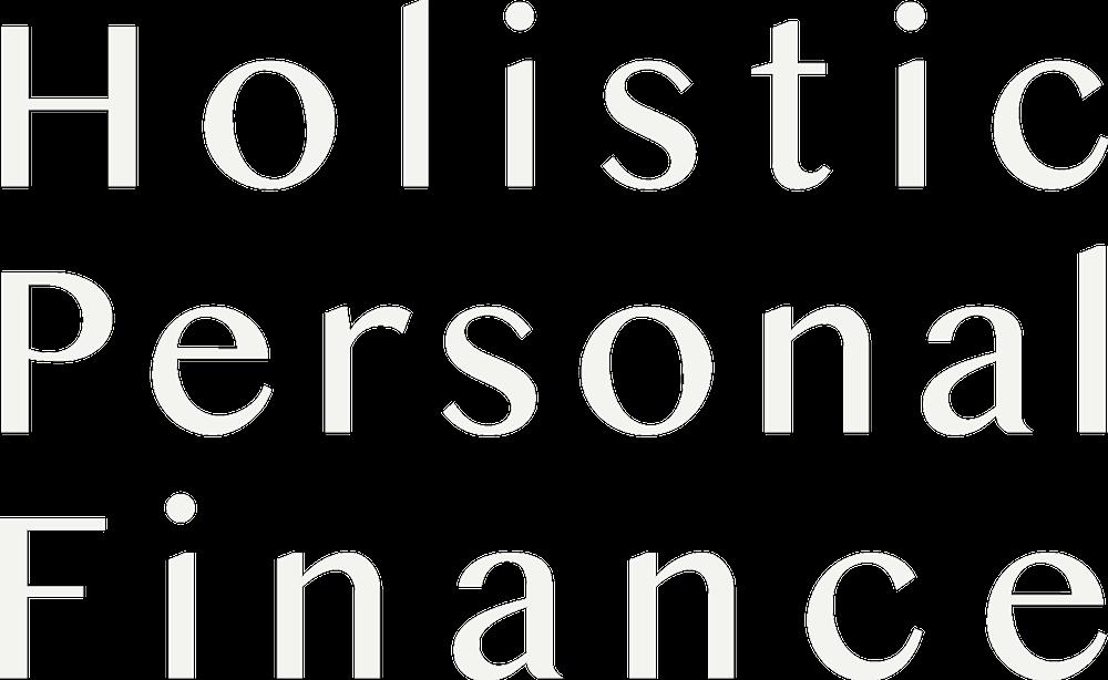 holistic personal finance