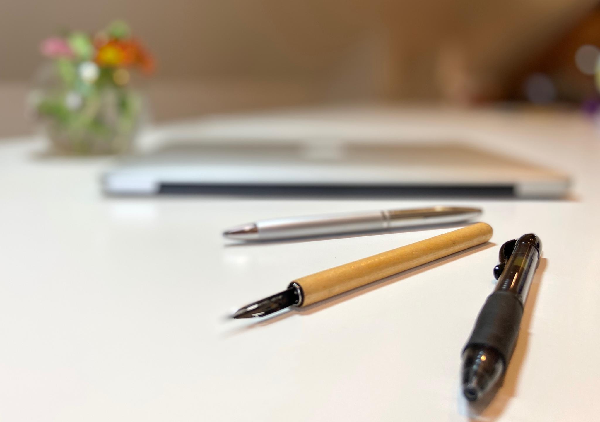 writing tools, macbook pro, calligraphy pen & writing pens