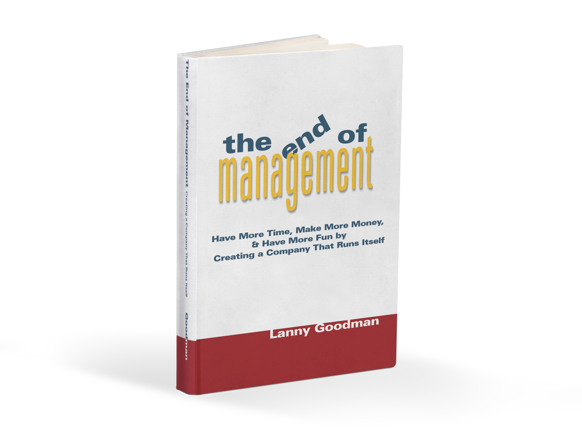 The End of Management Book