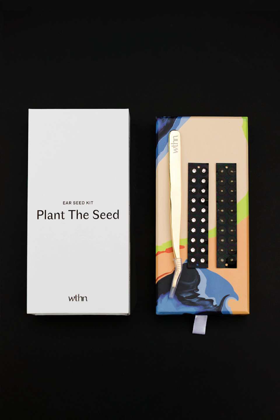 wthn ear seeds kit designer branding