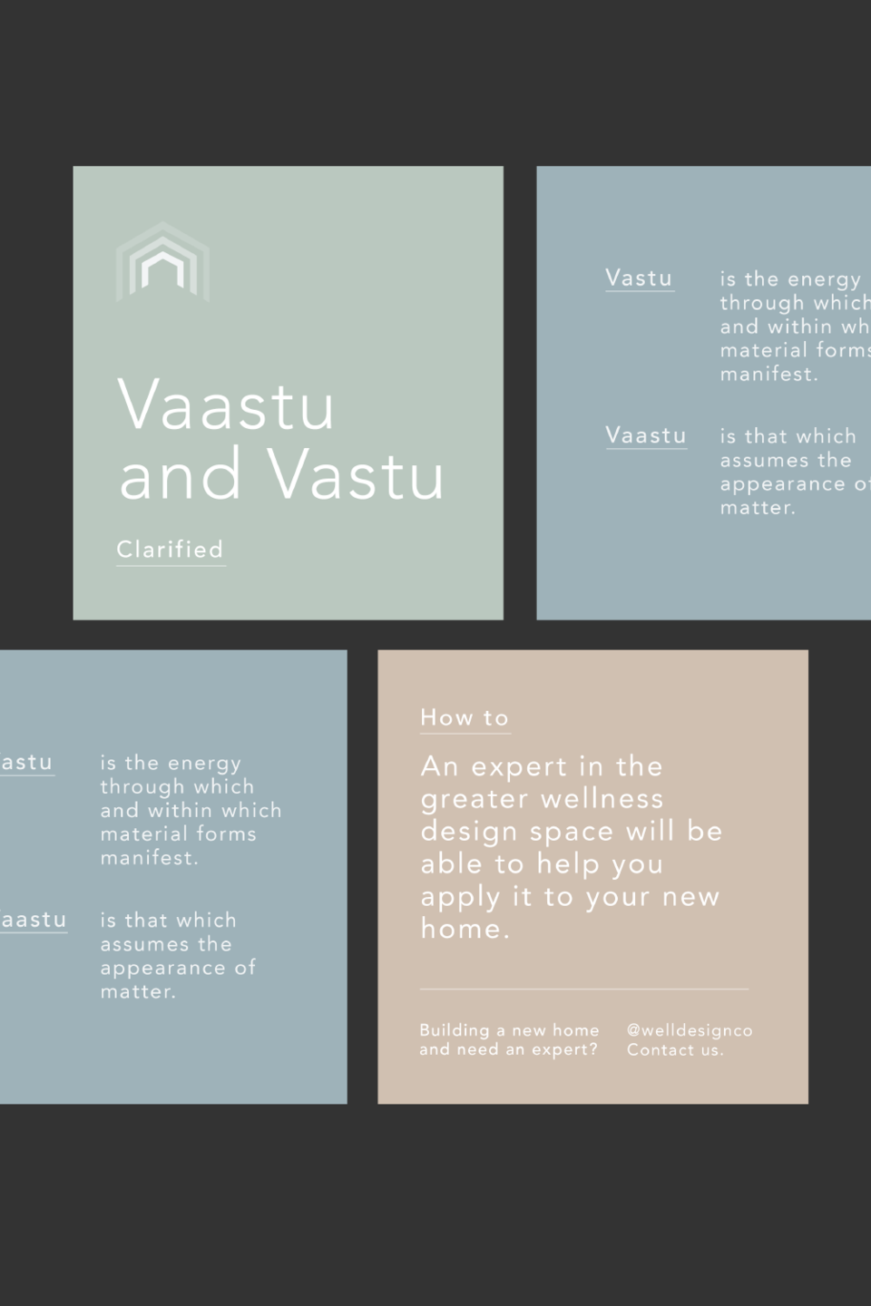 vaastu architecture meditation social media posts