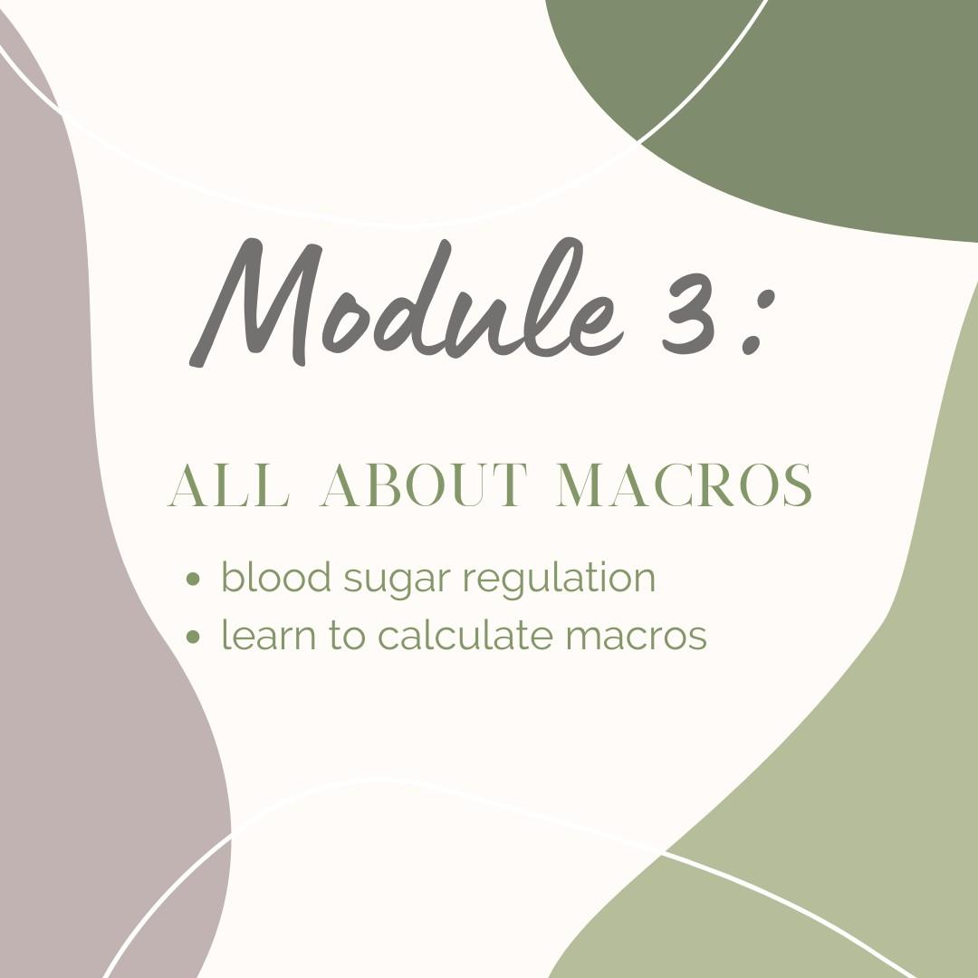 Module 3: All about macros