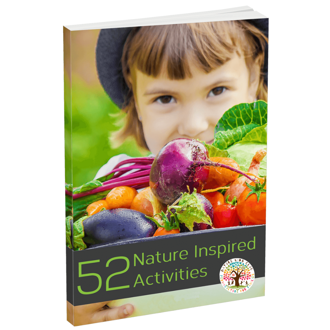 52 Nature Inspired Activities Ebook by the Nature Kids Club