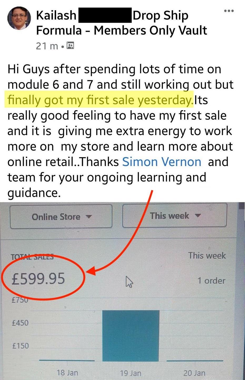 High ticket UK drop shipping screenshot 4