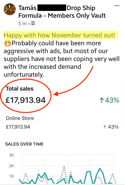 High ticket UK drop shipping screenshot 7