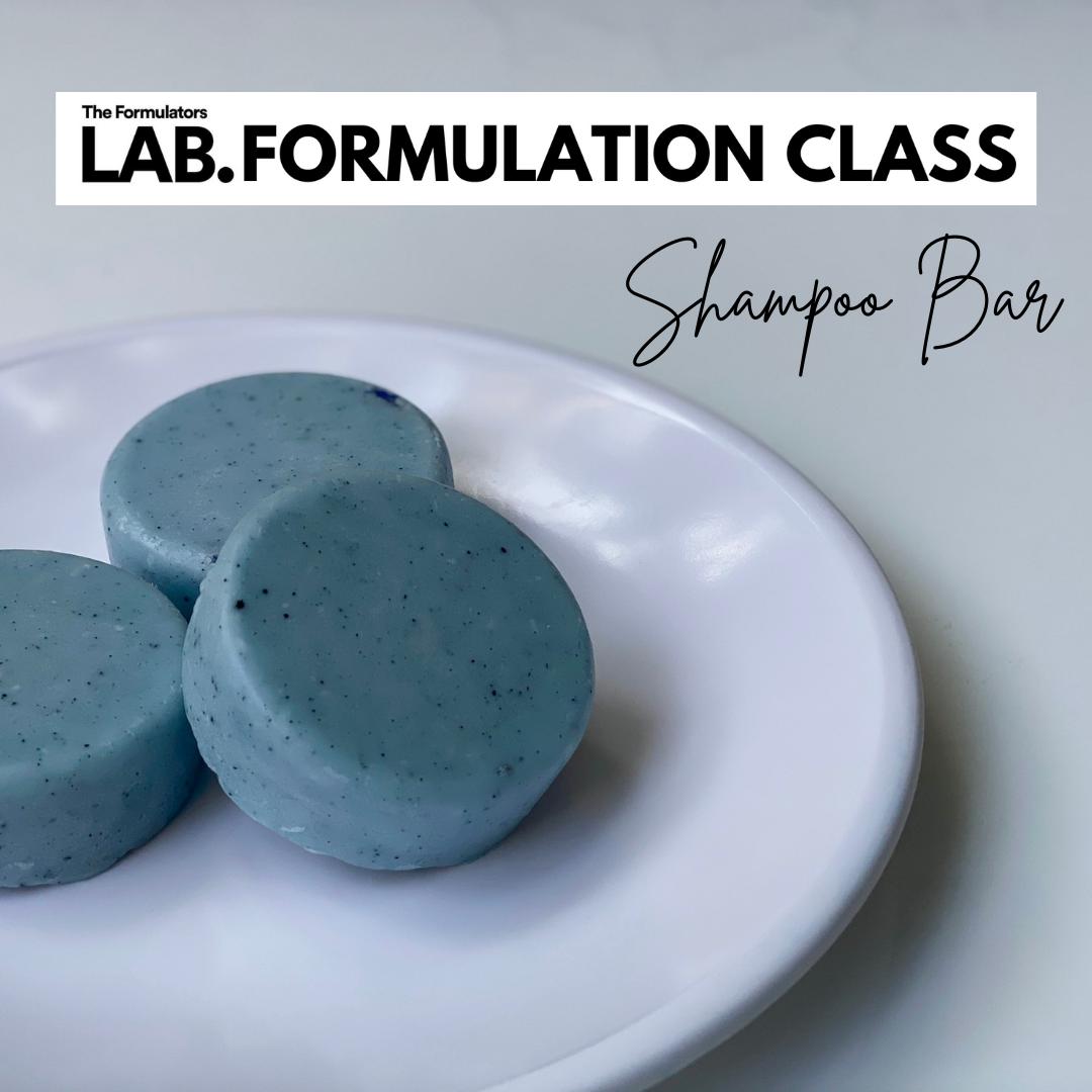 shampoo bar formulation class - The Formulators LAB