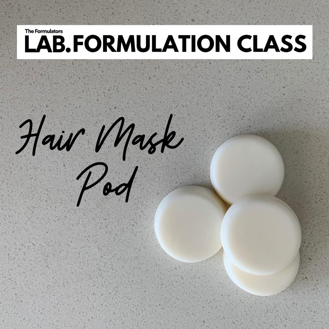 overnight face mask formulation class - The Formulators LAB
