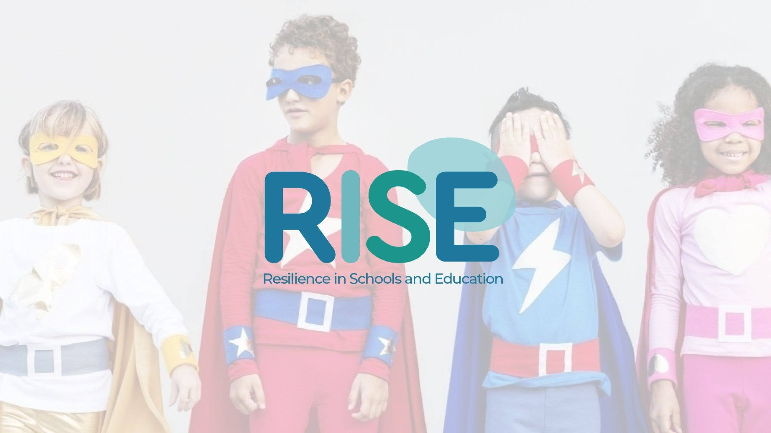 RISE: Resilience in Schools and Education main image and logo