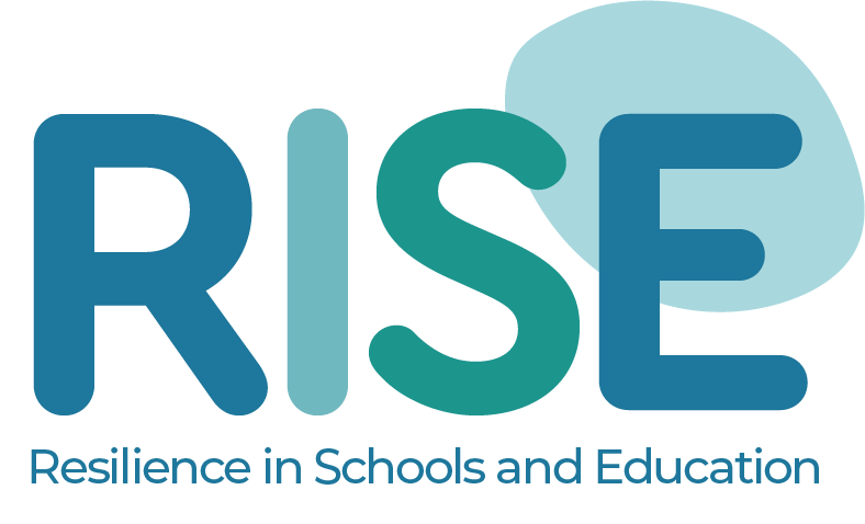 RISE: Resilience in Schools and Education logo