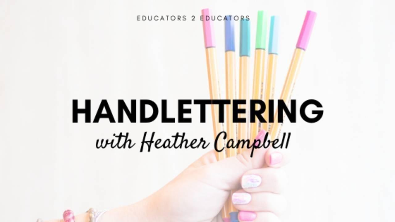 Handlettering for Teachers
