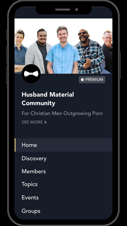 Husband Material Community App