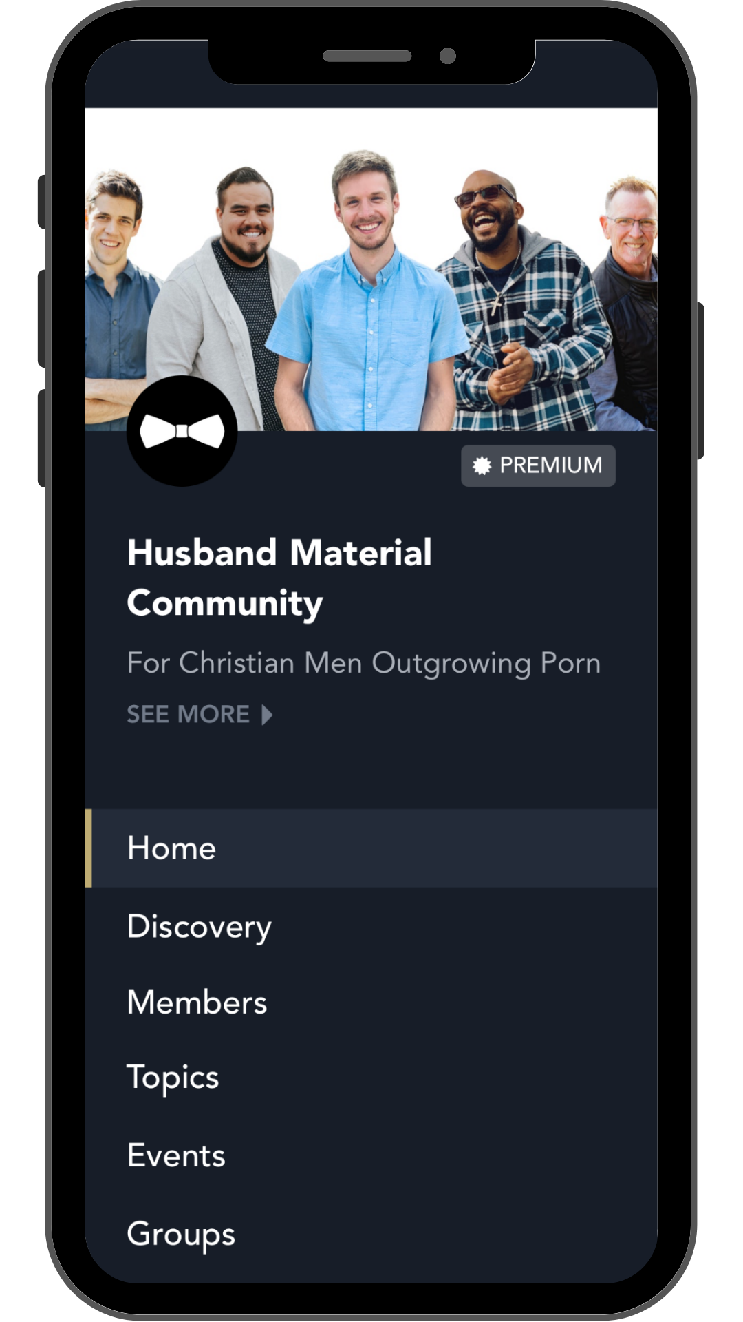 Husband Material Community App