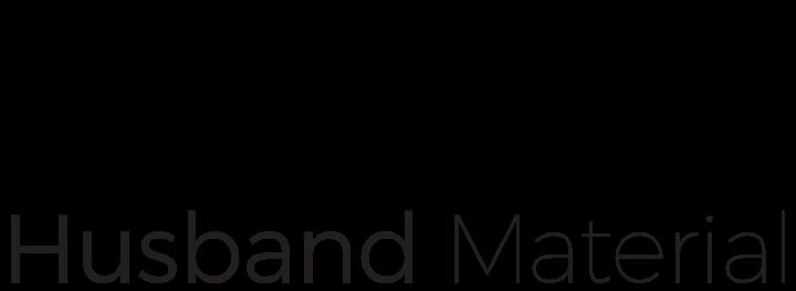 Husband Material Logo