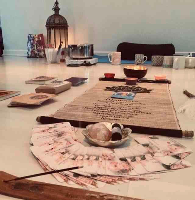 Cacao Ceremony with Sarah Richardson healing joy