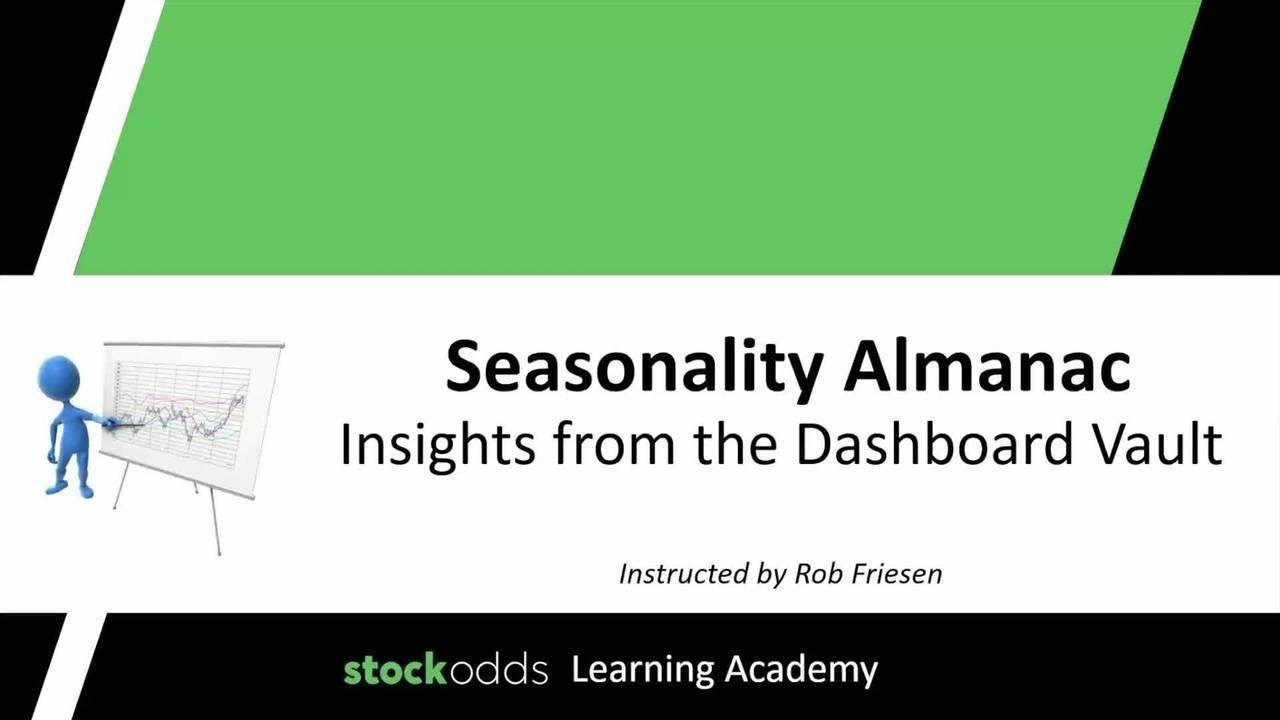 Free Seasonality Dashboard Course