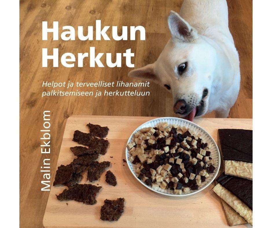 hyvinvoiva koira luonnollisella ruokinnalla