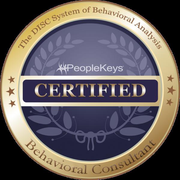 PeopleKeys Certified Behavioral Consultant Badge