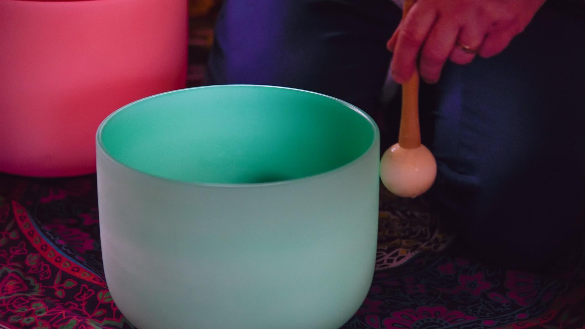 Sound Healing with Crystal Singing Bowls
