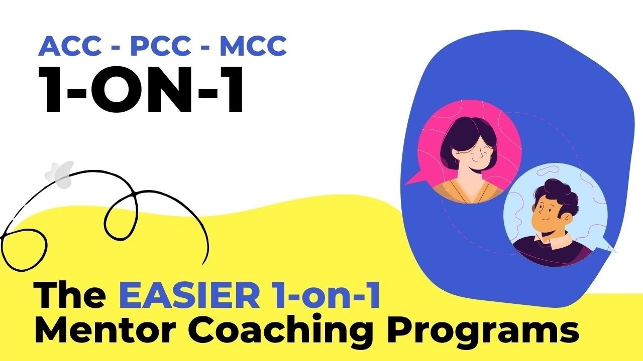 Giuseppe Totino MCC - The  ICF EASIER 1-ON-1 Mentor Coaching Program for all level Coaching