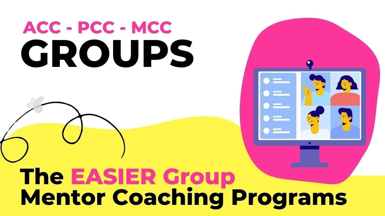Giuseppe Totino MCC - The ICF  EASIER Group Mentor Coaching Program for ACC and PCC