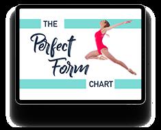 Ballet perfect form chart bonus