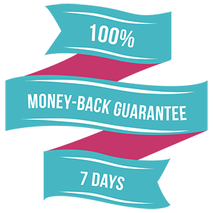 7 day money-back guarantee
