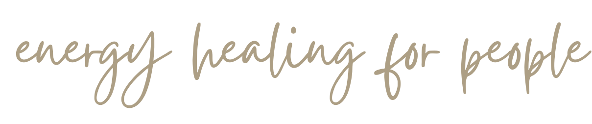 handwritten cursive words that say energy healing for people
