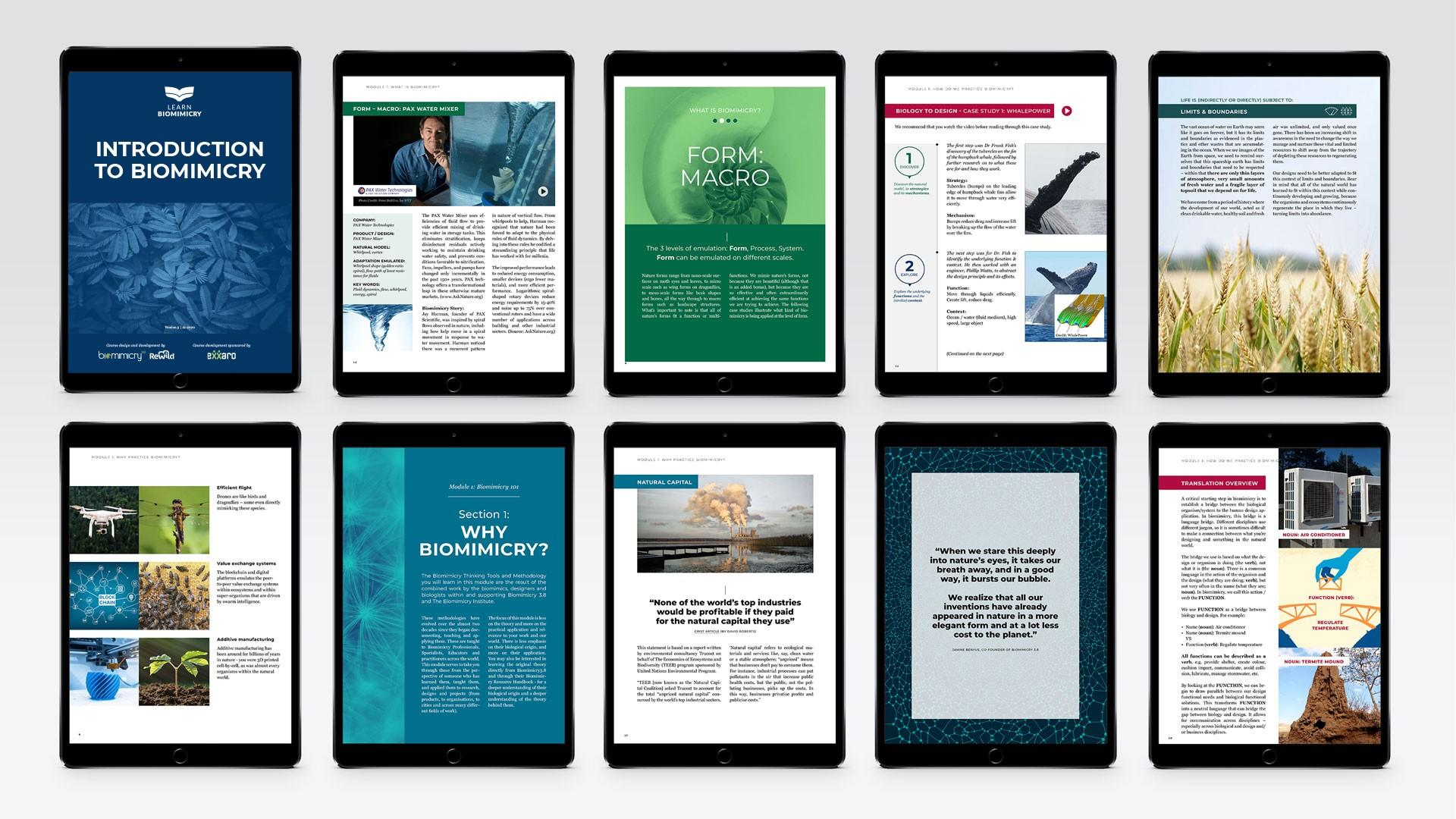 biomimicry online course textbooks
