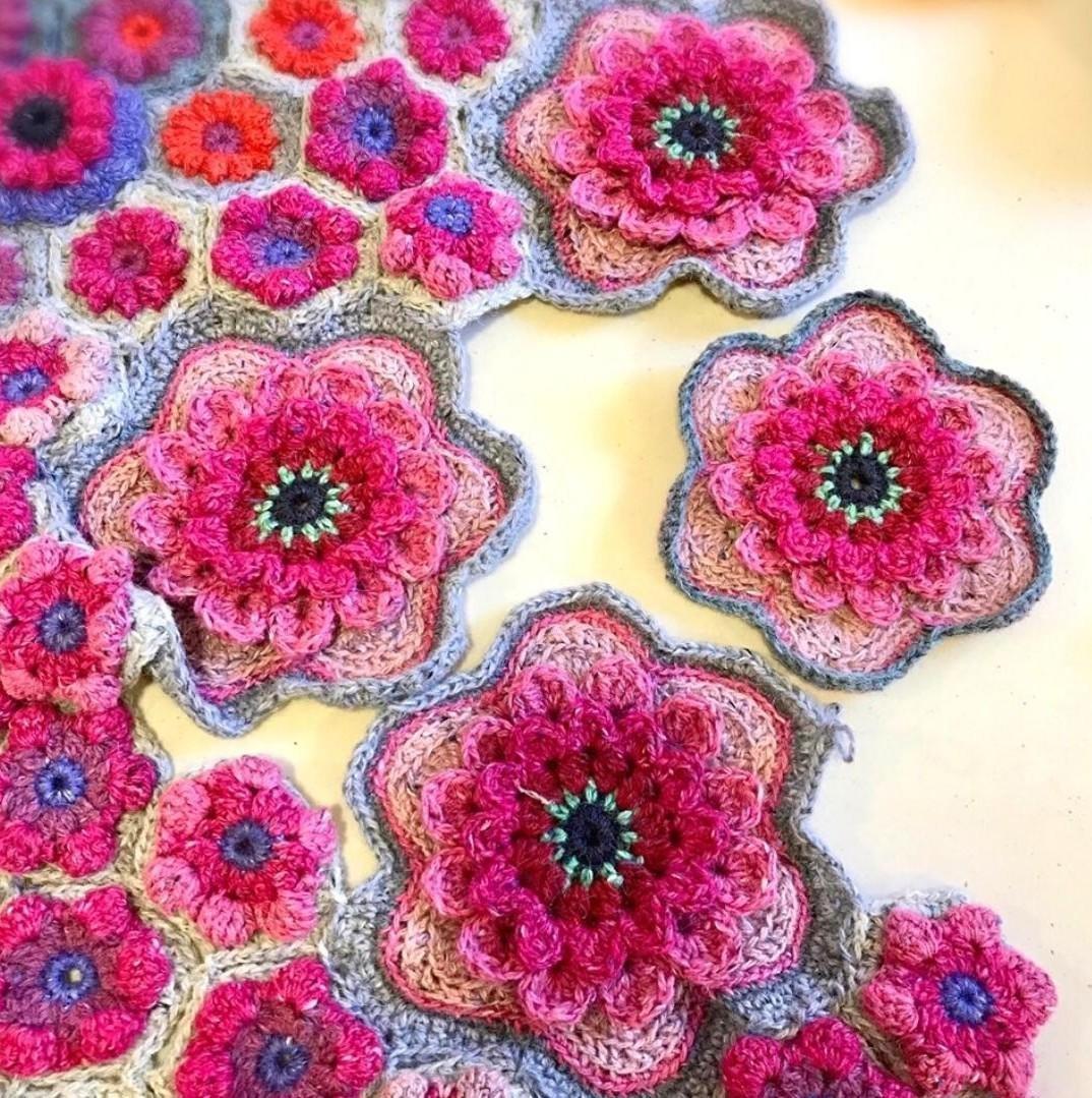 Wallflowers Crochet