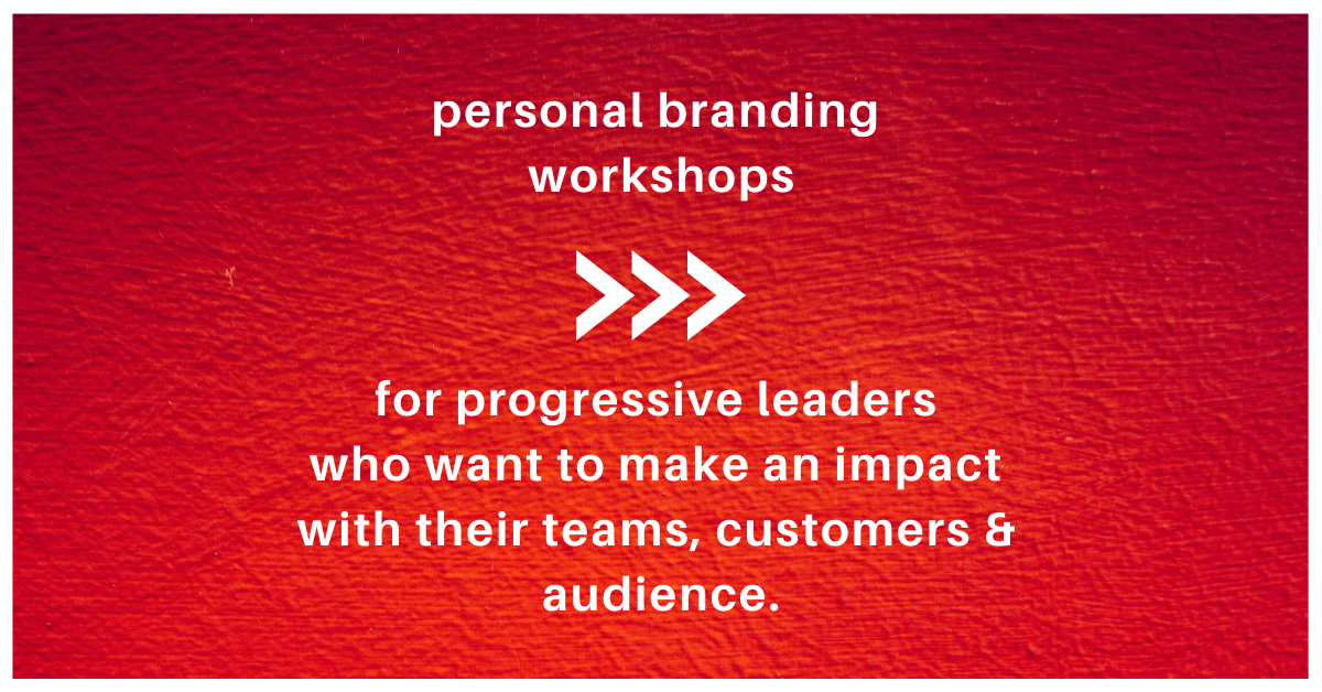 Personal Brand Workshop - Brand of a Leader
