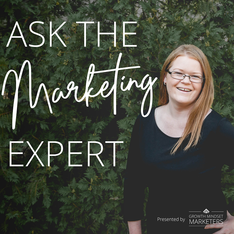 Ask the Marketing Expert Podcast