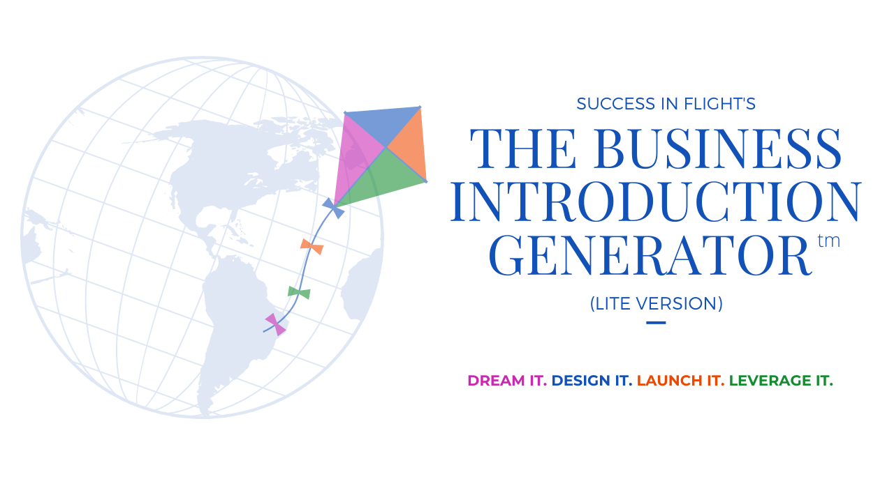The Business Introduction Generator-Lite Version