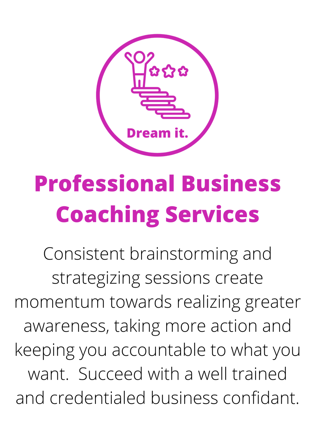 Professional Business Coaching Services