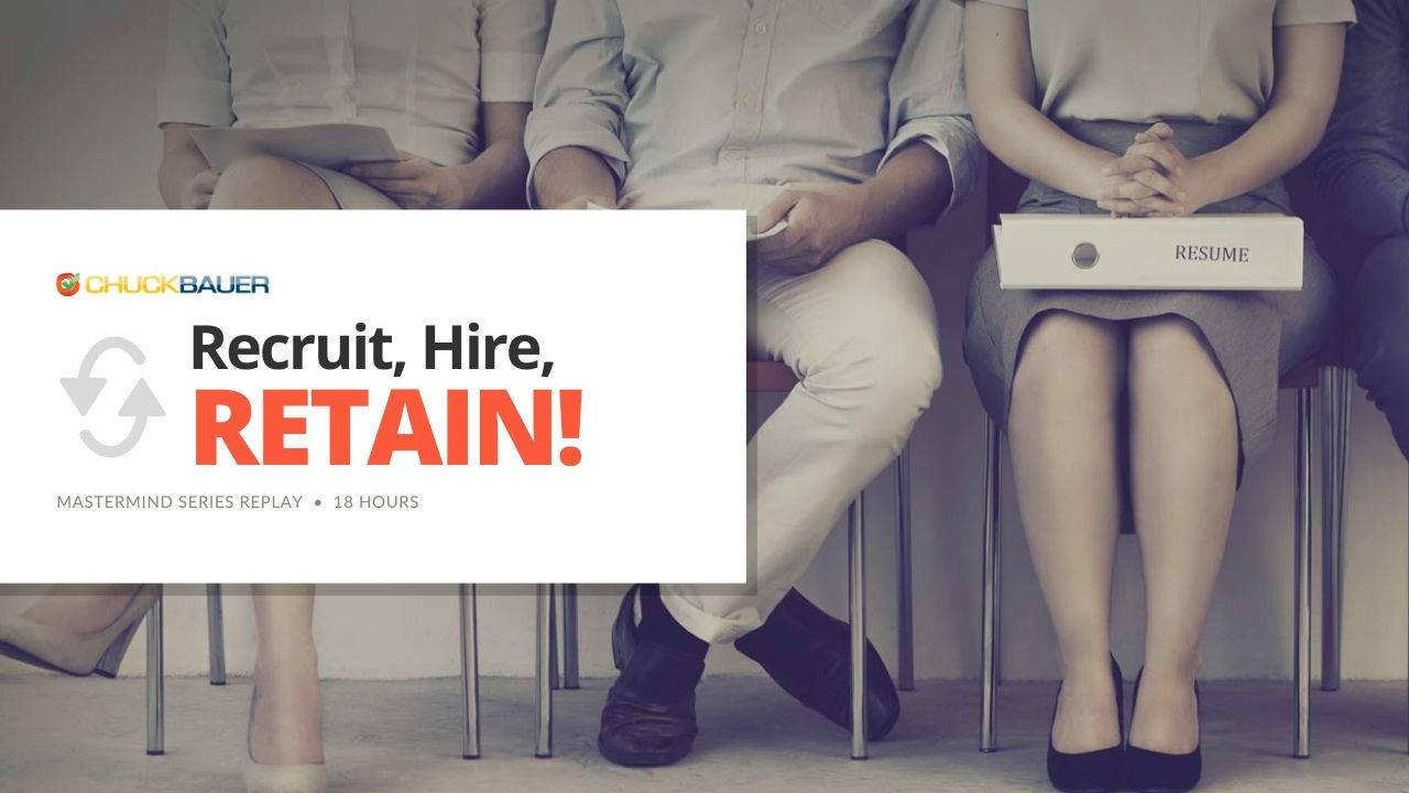 Replay: Recruit, Hire, Retain! - Hiring & Recruting Mastermind Sessions