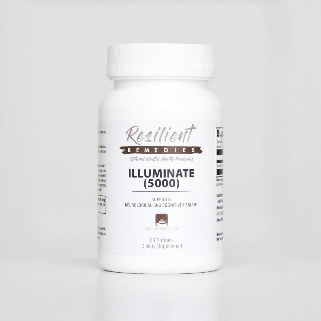 Shop Illuminate Vitamin D3 at the Natural Mental Health Store.
