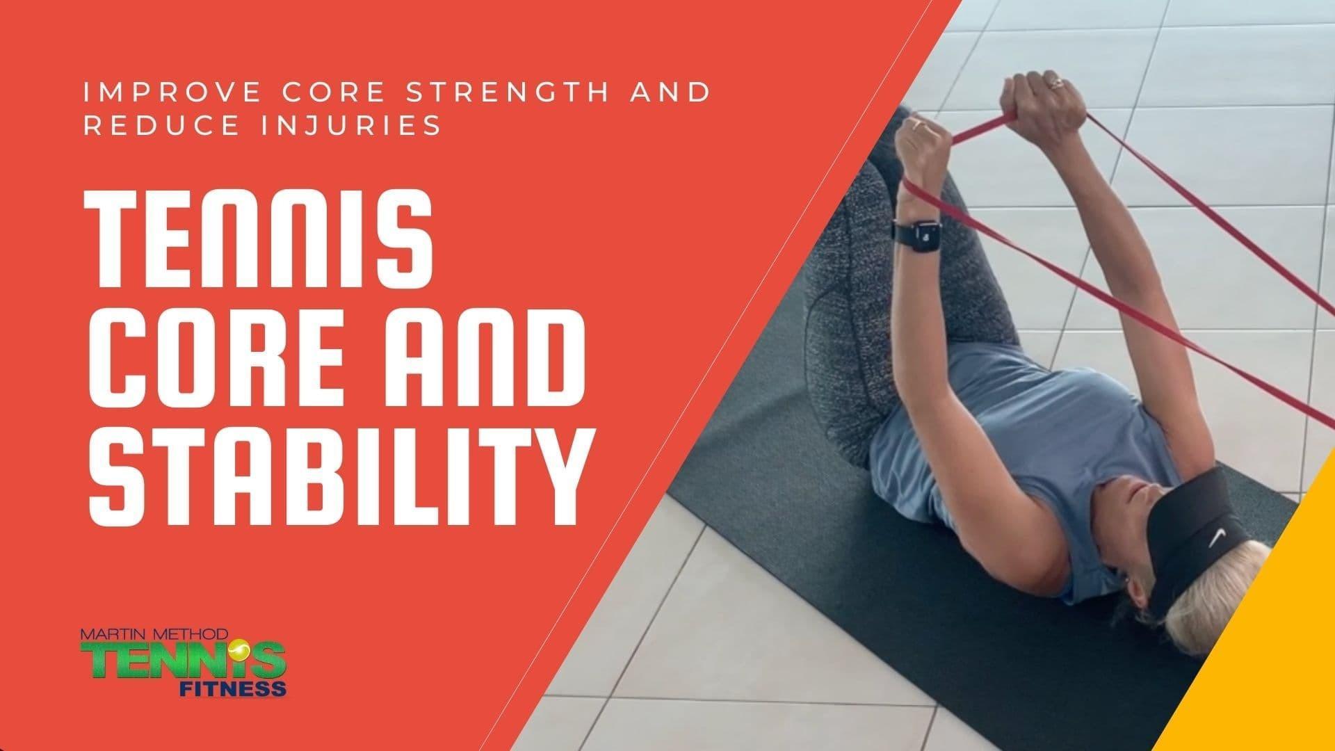 tennis core exercises