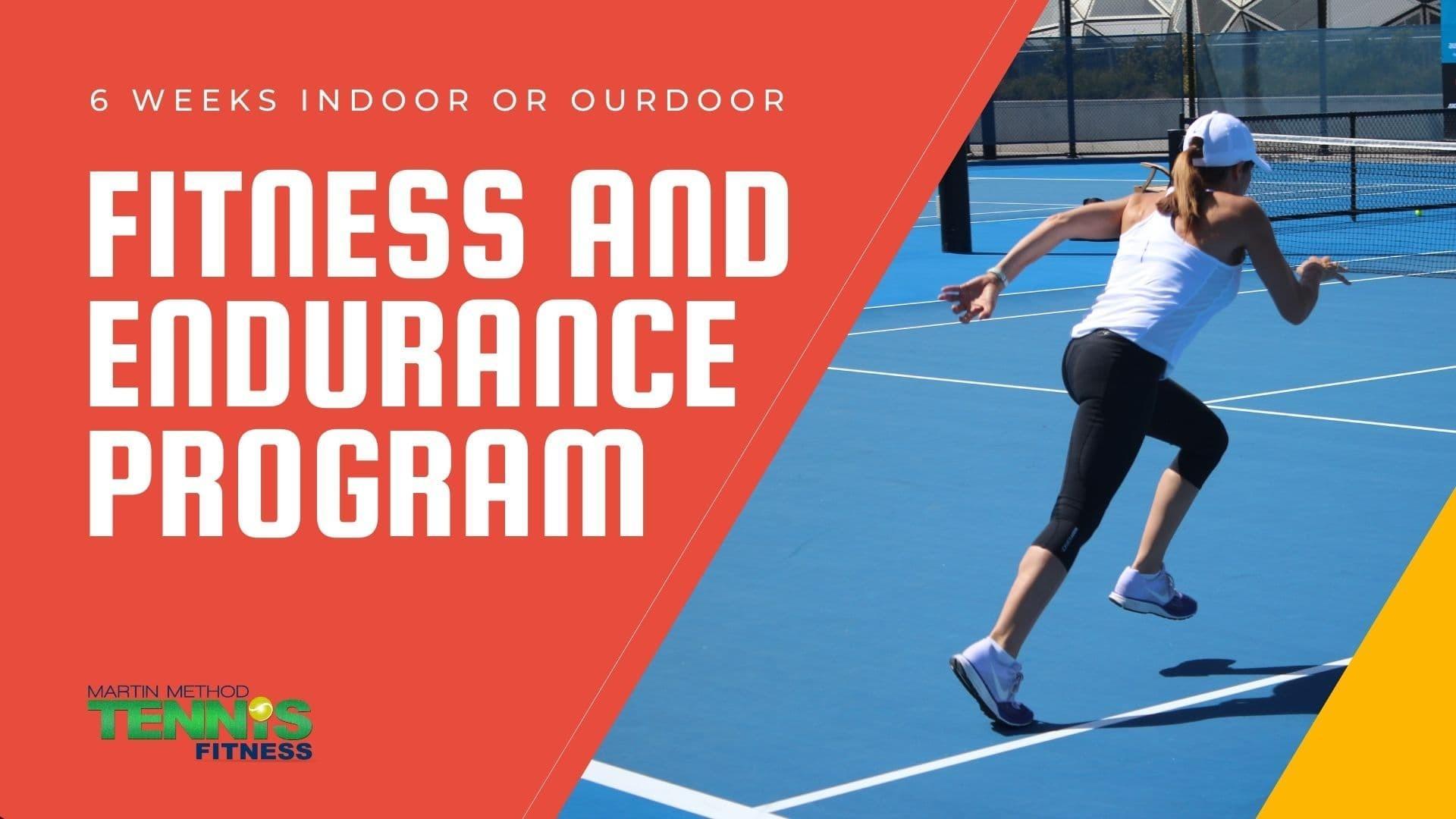 tennis endurance program