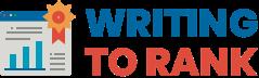 Writing to Rank Logo