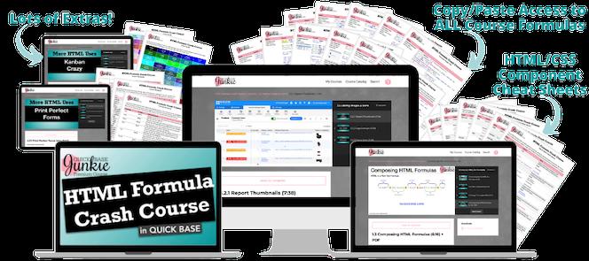 HTML Formula Crash Course for Quickbase