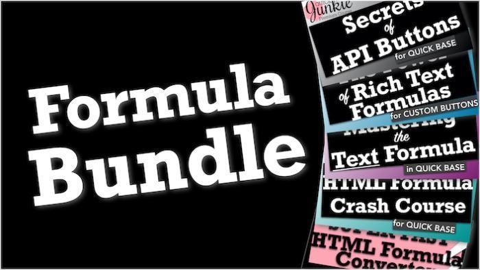 Quickbase Formula Training Bundle