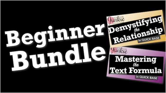 Quickbase Beginner Training Bundle