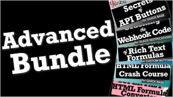 Quickbase Advanced Training Bundle