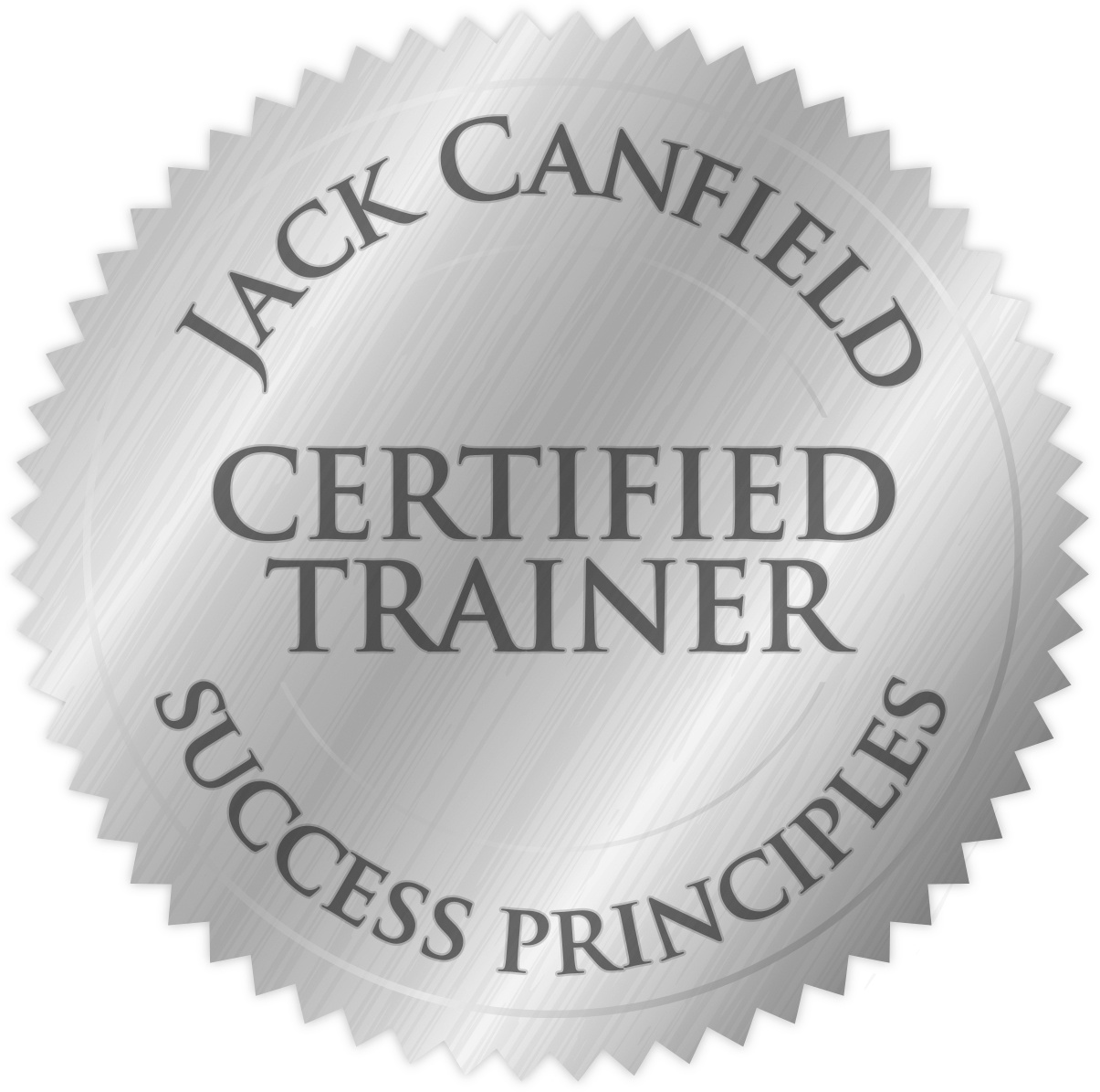 Certified Jack Canfield Success Principles Trainer