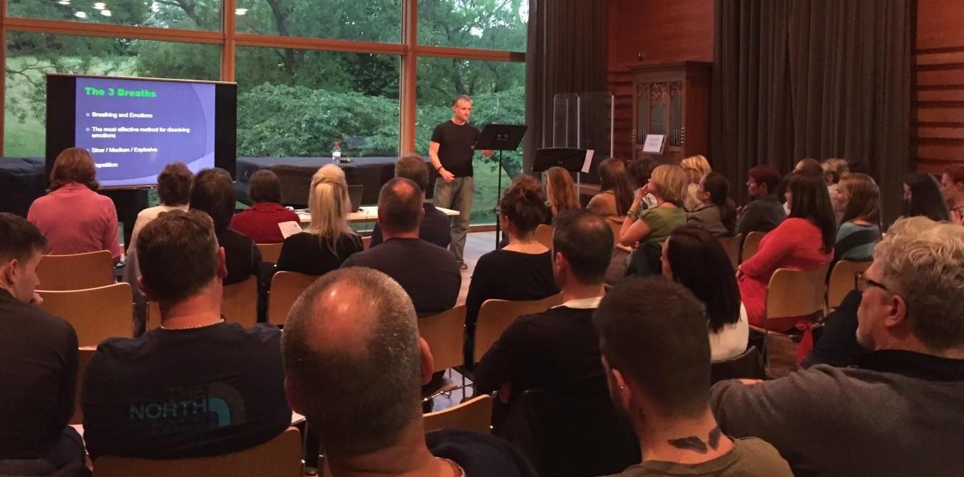 Simon Lee public speaking